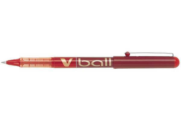 PILOT Roller V-Ball 0,5mm BL-VB5-R rot