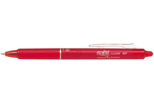 PILOT Frixion Clicker 0.7mm BLRT-FR7-R rot,...
