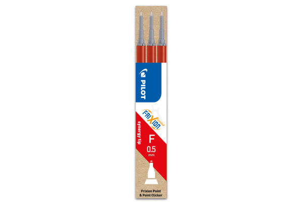 PILOT Roller FriXion Mine 0,5mm BLSFRP5R rot 3...