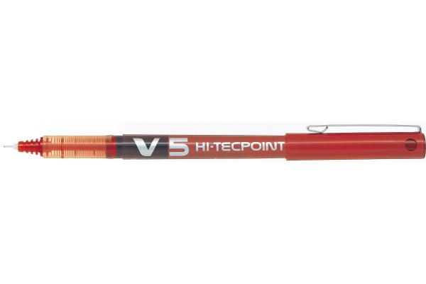 PILOT Hi-Tecpoint V5 0,3mm BX-V5-R rot