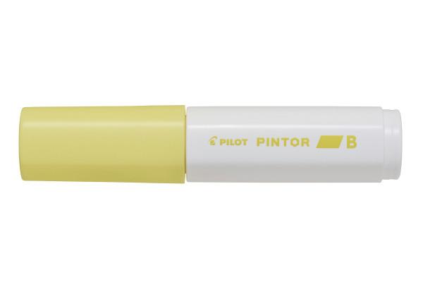 PILOT Marker Pintor 8.0mm SWPTBPY pastell gelb