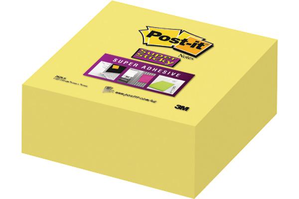 POST-IT Würfel 76x76mm 2028-S ultragelb, 350 Blatt