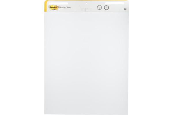 POST-IT Meeting Chart SS 2+1 Big Notes 559P-BNF weiss, 30 Blatt, 2 Pads