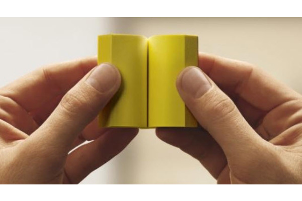 POST-IT Block 38x51mm 653Y gelb 100 Blatt 3 Stück