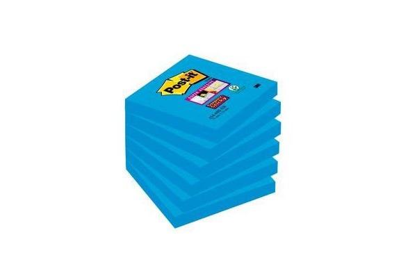 POST-IT Block Super Sticky 76x76mm 6546SSEB...