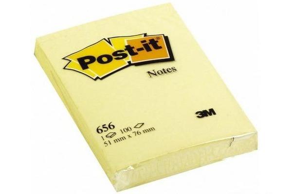 POST-IT Note 51x76mm 656GE gelb 100 Blatt