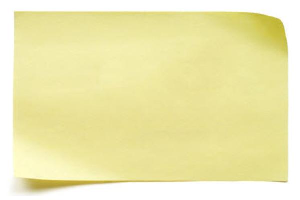 POST-IT Block 76x102mm 657 gelb 100 Blatt
