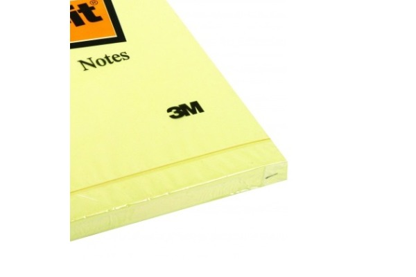 POST-IT Block 102x152mm 659Y gelb 100 Blatt