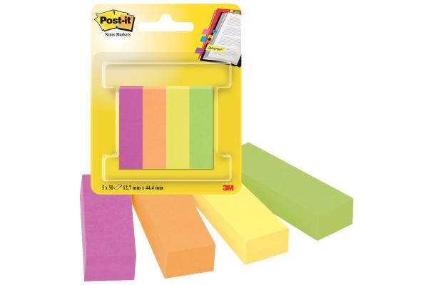 POST-IT Page Marker 12,7x44,4mm 670-4CA 4 Farben 4x50...