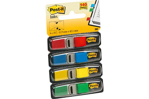 Post-it 3M Index 50 Blatt 25,4 x 43,2 gelb Maschine 680-33 Ausrufezeichen Pfeil