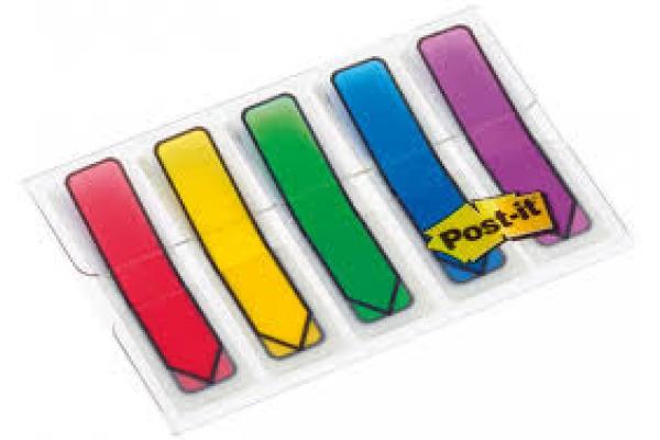 POST-IT Index Pfeile Dispenser 684-ARR1 5-farbig 5x20...