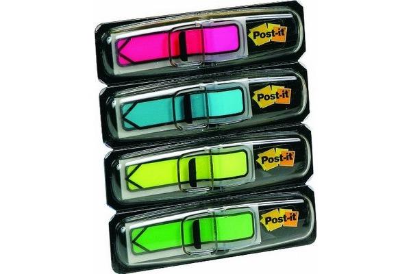 POST-IT Index Pfeile 684-ARR4 neon 4-farbig ass./4x24 Blatt