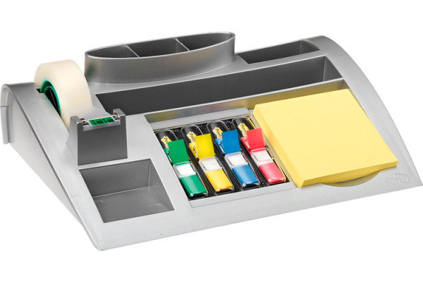 POST-IT Organizer silbergrau C50 mit 810, 654, 4x683