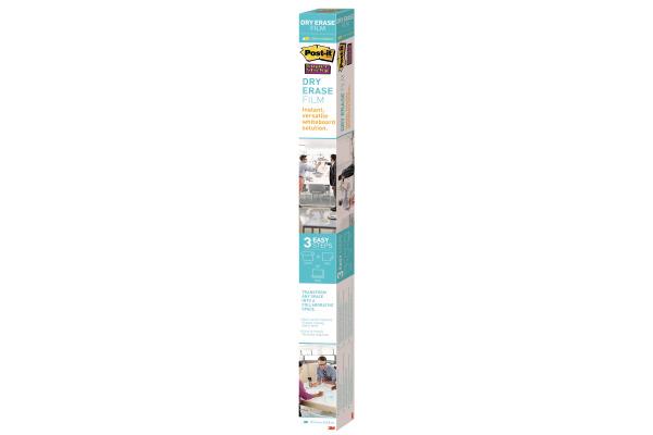 POST-IT Super Sticky Dry Erase Film DEF8X4-EU Gloss white 1219x2438mm