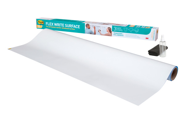 POST-IT Flex Write Surface Folie FWS8X4 weiss 120x240cm