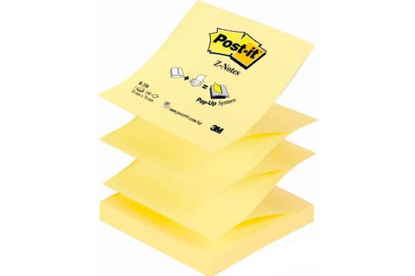 POST-IT Z-Notes refill 76x76mm R-330Y gelb 100 Blatt