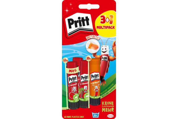 PRITT Klebstifte BTS 11/10g PBS4B 3x11 g + 1x10 g 3+ 1 Stück
