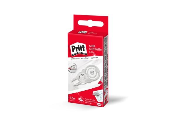 PRITT Refill Kassette 6.0mmx12m PRX6H weiss, für...