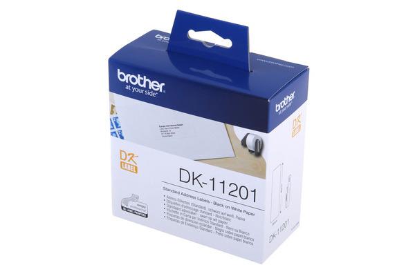 PTOUCH Adress-Etiketten 29x90mm DK-11201 QL-500 550 400...