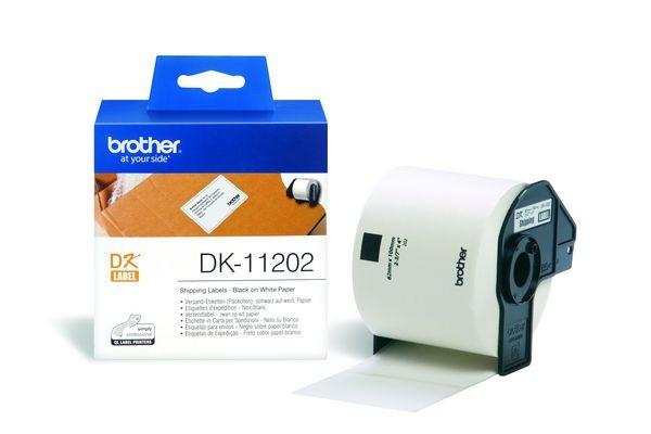 PTOUCH Versand-Etiketten 62x100mm DK-11202 QL-500 550 300...