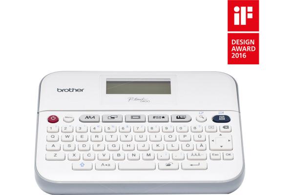 PTOUCH Beschriftungsgerät PT-D400 Bandkassette...