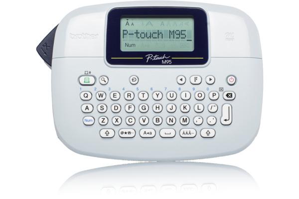 PTOUCH Beschriftungsgerät PT-M95 inklein Farbband