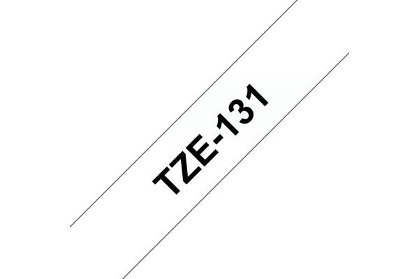 PTOUCH Band, laminiert schwarz klar TZe-131 PT-1280VP 12 mm