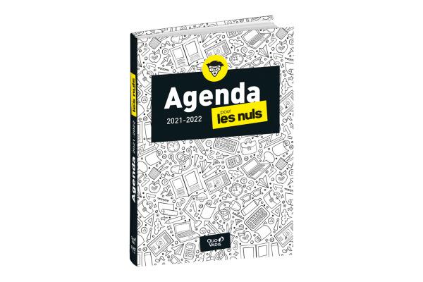 QUO-VADIS Agenda Pour Les Nuls 20/21 QV612001 12M fr 12x17cm