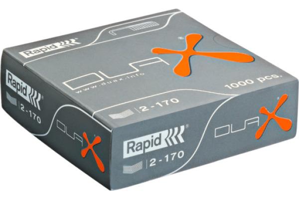 RAPID Heftklammern Duax 21808300 verzinkt 1000...