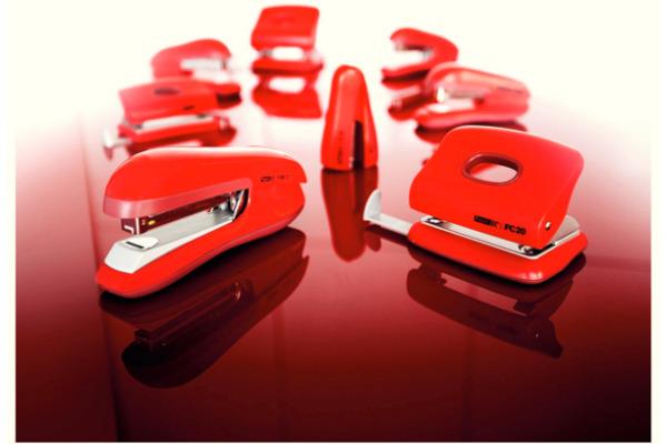 RAPID Bürohefter F30 Flat Clinch 23256502 rot 30 Blatt