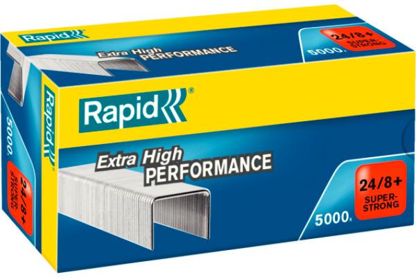 RAPID Heftklammern 24/8mm 24860100 5000 Stück