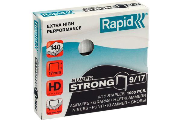 RAPID Heftklammern 9/17mm 24871600 1000 Stück