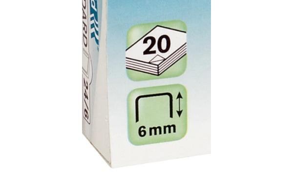 RAPID Heftklammern RK8 6 6mm 24873600 1050 Stück