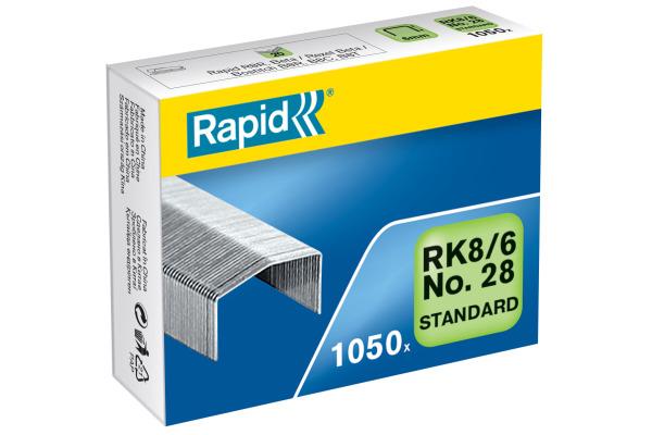 RAPID Heftklammern RK8/6 6mm 24873600 1050 Stk.