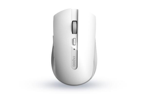 RAPOO 7200M Trendy Mouse white 18043 Wireless, Multi-Mode