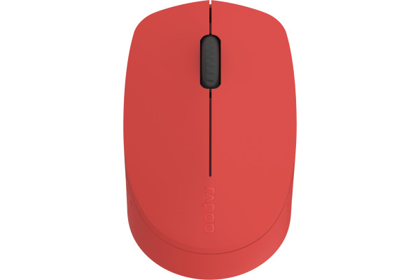 RAPOO M100 Silent Mouse 18184 Wireless, red