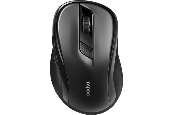 RAPOO M500 Office Silent Mouse black 18404 Wireless, Multi-Mode