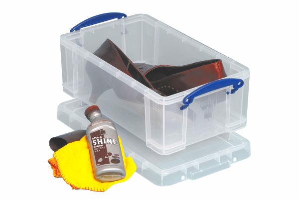 Really Useful Box Aufbewahrungsbox 5 Liter, transparent