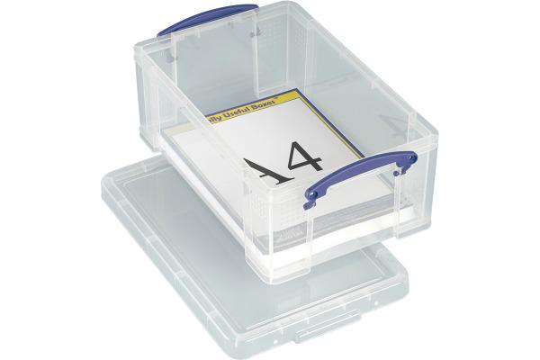 REALLY USEFUL BOX Kunststoffbox 9lt 68502700 klar