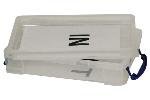 REALLY USEFUL BOX In-Out Einsatz 6850500 transp. ohne...