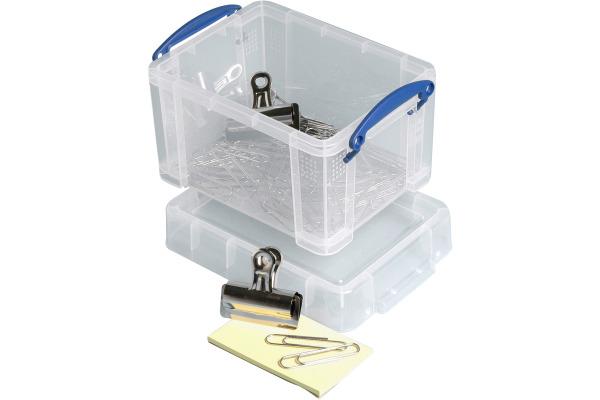 REALLY USEFUL BOX Kunststoffbox 1,6lt 68507200 transparent