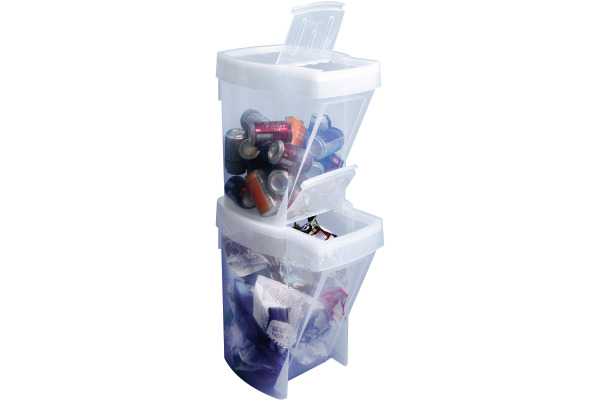 USEFULBOX Recycling Box 68507400 transparent 32lt