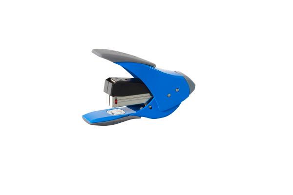 REXEL Heftapparat Easy Touch 20 2102633 blau 20 Blatt