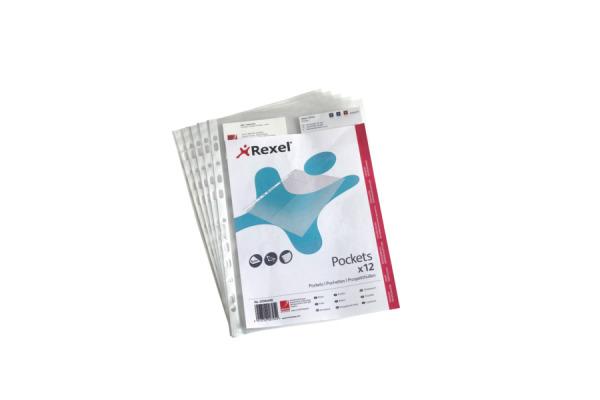 Rexel Visitenkartenhülle A4 22302490 Für 16 Karten