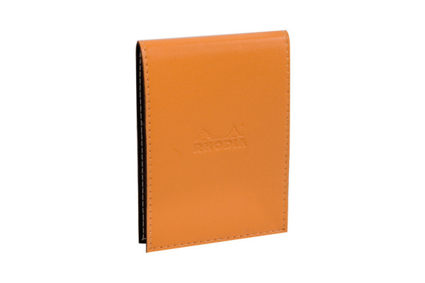 RHODIA Blockhülle 84x115mm 118118 kariert orange