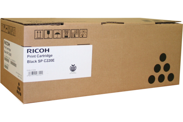 RICOH Toner schwarz 407642 SP C220 2000 Seiten