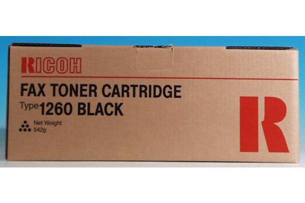 RICOH Toner-Modul Typ 1260 schwarz 430351 Fax 3310L 5000 Seiten