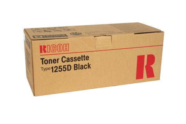 RICOH Toner schwarz Typ 1255D Aficio FX12 7000 Seiten