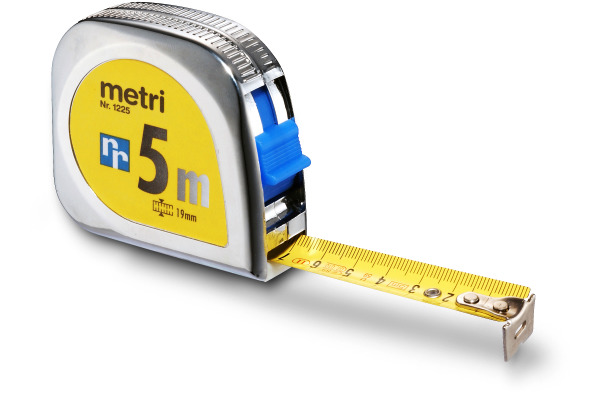 RIEFFEL Rollmeter 5m 1225SB
