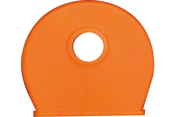 RIEFFEL Schlüsselkappen 8009FS OR orange 100 Stück